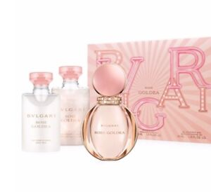 Coffret parfum Rose Goldea BVLGARY