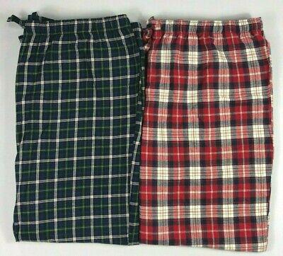 Men's Roundtree & Yorke Big & Tall Flannel Sleepwear Pajama Pants Mens Tall Flannel Pajamas
