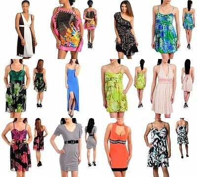 New Lot Wholesale 40 Pcs Mixed Womens Dresses Tops Jeans Juniors Clothing S M L