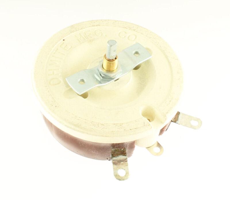 1x 4.5kohm 150Watt Ohmite Rheostat 4500 ohms 150W ohm Resistor Wirewound