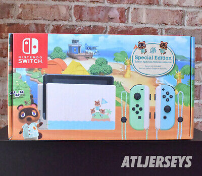 New Nintendo Switch Animal Crossing New Horizons Special Edition 32GB Console