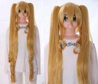 Y-252 Rozen Maiden Shinku Rubio 110cm Pony Cosplay Peluca Wig Anime Resistente -  - ebay.es