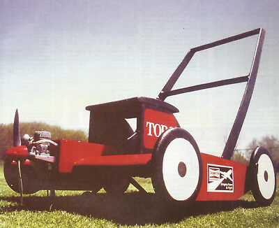 Cloud Clipper Flying Lawnmower Plans  Templates And Instructions 26Ws