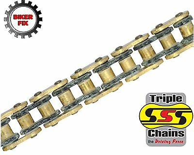 <em>YAMAHA</em> XS500 AB SPOKE WHEEL 75 77 SSS GOLD HEAVY DUTY O RING CHAIN