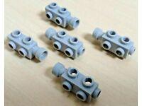 LEGO® 2Stk Kamera Motor alt-hellgrau 4360