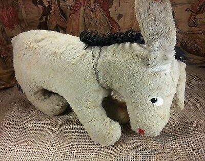 Vintage Eeyore Stuffed Animal Antique Walt Disney Winnie The Pooh Donkey Stuffed