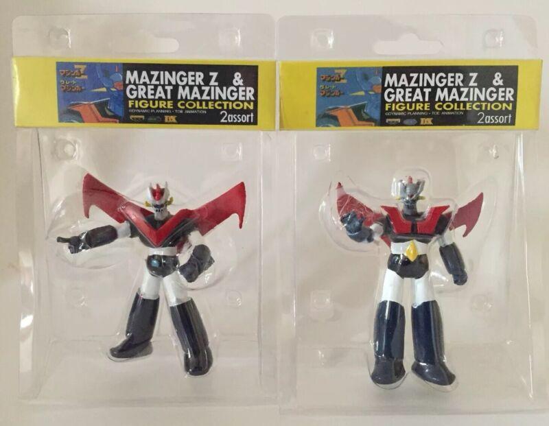 """MAZINGER Z Great Maxinger  Set Of (2) Figures 3.75 """""""