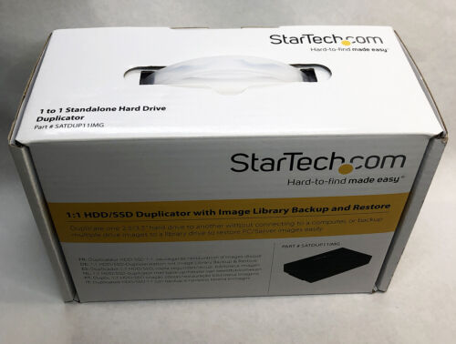 Hard Drive Duplicator Multi HDD/SSD Image Backup Not Software Needed by StarTech