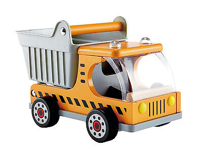 Hape Kipplaster Kipper Laster Holz Baufahrzeug Baustelle haltbar sehr stabil!!!
