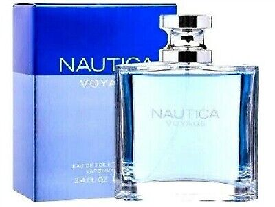 NAUTICA VOYAGE By NAUTICA Cologne Perfume Men 3.4 oz Edt Spray NEW IN BOX SEALED