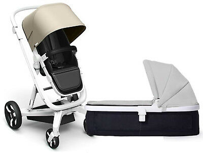 Used, Milkbe Lulaby Reversible Auto Braking Pram System Baby Stroller w Carry Cot New for sale  Shipping to South Africa