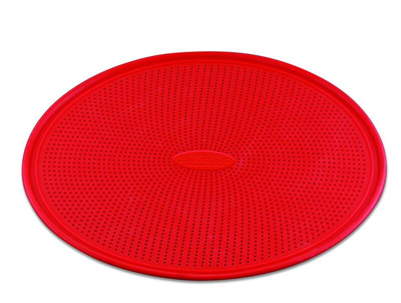 """DoughEZ Pizza Pan for Baking, 13"""", Perforated Silicone, Non-Stick"""