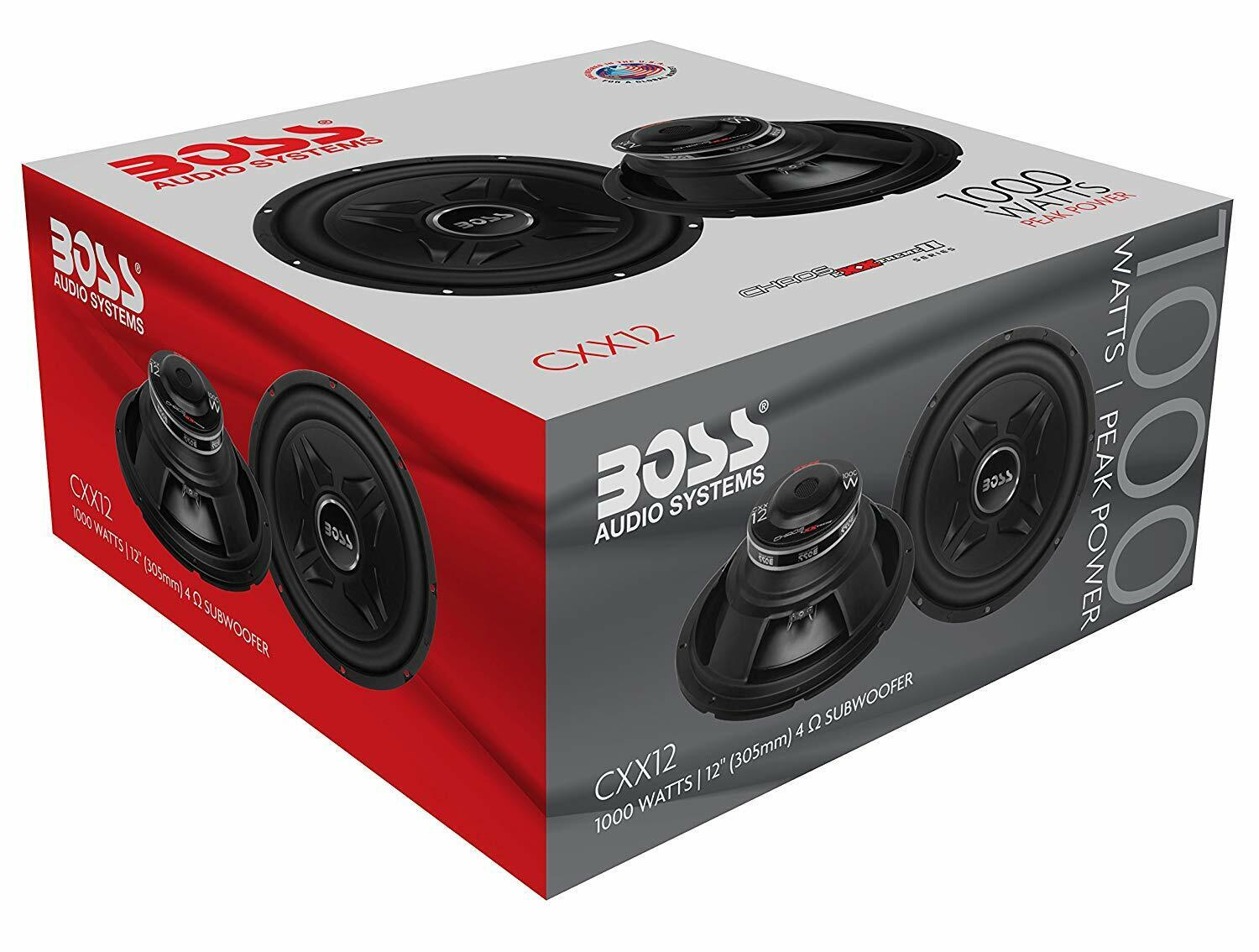 BOSS Audio Systems 1000 Watts Car Subwoofer 12 Inch Single 4