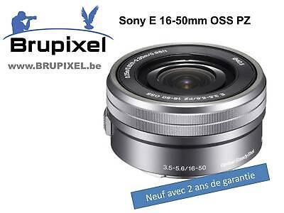 zoom SONY SEL 16-50mm OSS PZ monture E pour hybride A5300 A6000 etc...