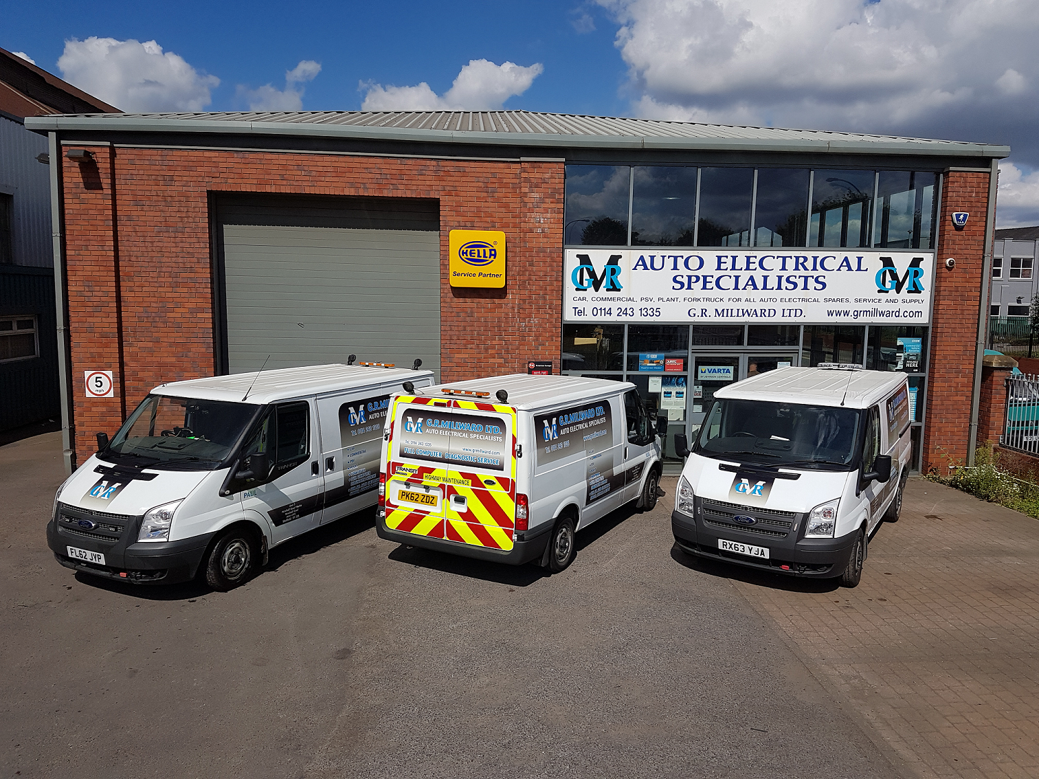 G R Millward Auto Electrical