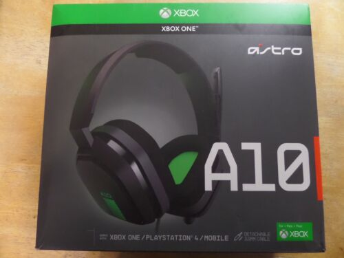 Astro Gaming A10 Wired Stereo Gaming Headset for Xbox One Green/black 939-001510