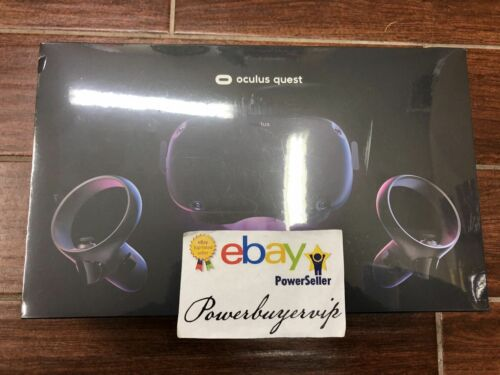 NEW Oculus Quest All-in-One VR Gaming Headset 64GB Black FAST SHIPPING 2 DAY GET