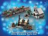 LEGO Winter Village Sets Bundle 1 INSTRUCTIONS ONLY for LEGO Bricks (Christmas)