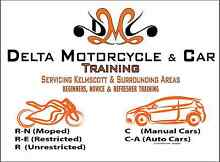 Delta Motorcycle and Car Training Kelmscott Armadale Area Preview