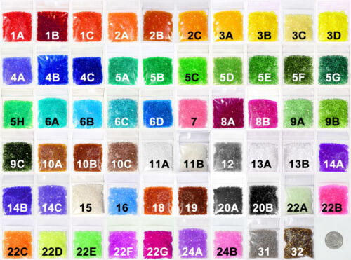 One Of Each of the 59 Colors of Makit & Bakit Baking Crystals