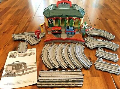 Thomas the Train Take Along Friends Tidmouth Shed ROUNDHOUSE Sheds 100% Complete