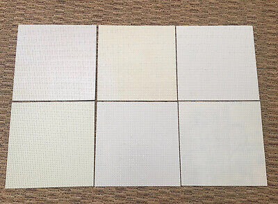 Authentic LEGO Lot of 6 Gray Base Plates 48 x 48 stud 15 x 15 inch Platform