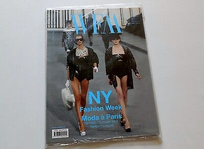 WFM World Fashion Magazine No.27 NY Fashion Week Spring/Summer 2009 Sealed