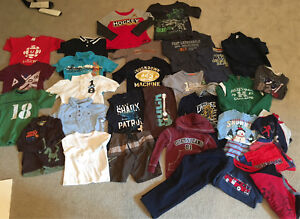 Boys 4/5 Clothing Lot- lots of name brands