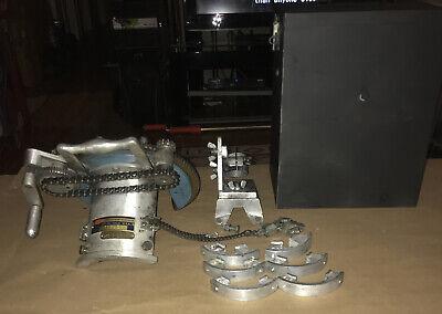 Hm Pipe Beveler Beveling Machine 11793h4.....1.5-2-2.5 In Carry Case