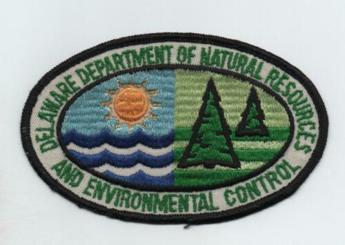 Delaware Dept. of Nat. Res. and Environmental Control Uniform Patch, Used