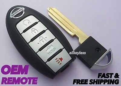 2016-17 NISSAN ALTIMA SMART KEY keyless entry 5 button remote fob S180144310 OEM