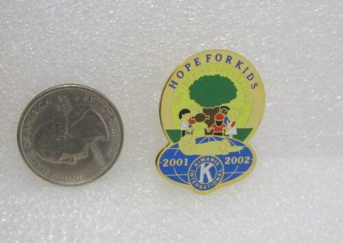 2001-02 Kiwanis International Cal-Nev-Ha Foundation Hope For Kids Pin