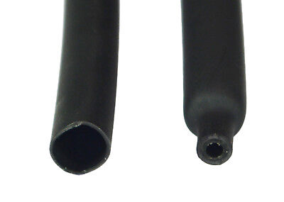Dw1s3x-7.9 Dual Wall 31 Heat Shrink Tubing 7.9mm 516 Black 1 Foot Qty5