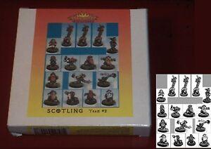 Elfball-ST-TM2-Scotling-Team-2-16-Miniatures-Highland-Dwarf-Football-Players