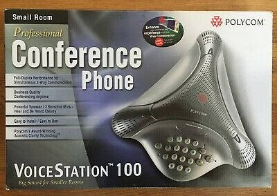 Polycom Voicestation 100 Full Duplex Conference Phone Small Room - Super Nice