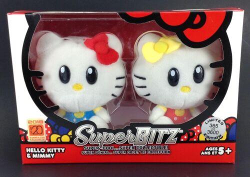 Hello Kitty & Mimmy SuperBitz Plush Set  SDCC Exclusive Summer Con