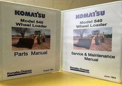 Komatsu Dresser 540 Wheel Loader Manual Set