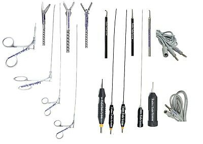 Laparoscopy Hysteroscopy Flexible 5fr Scissor Biopsy Alligator 3 Electrode 8pc