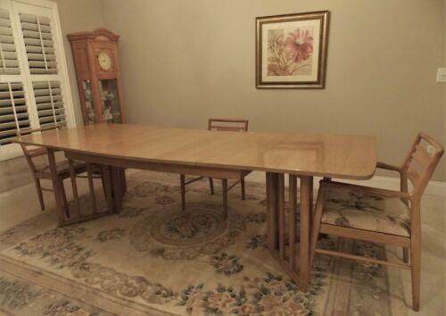 Mid-Century Oak Dining Table