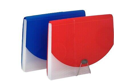 Pendaflex 7 Pocket File With 1 Document Case Assorted 4 Pcs Letter Size