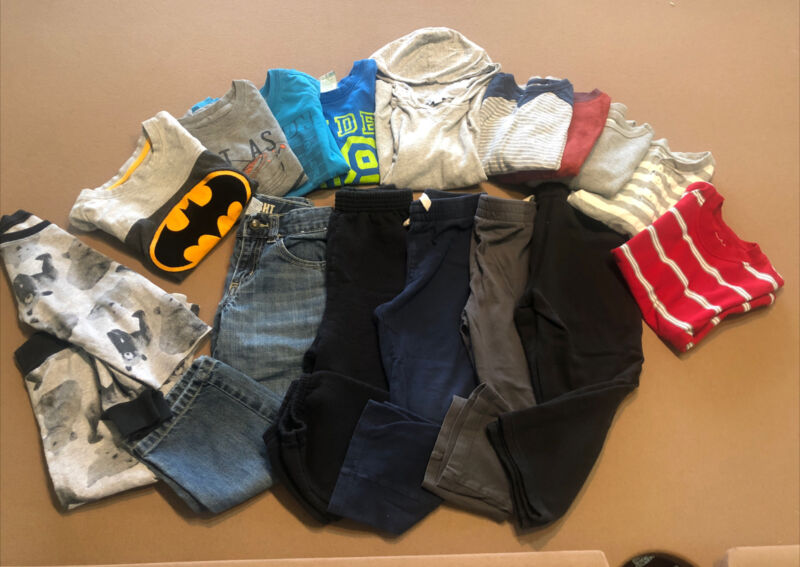 Toddler Boy Size 4T Fall/Winter Clothes OLD NAVY~ GYMBOREE + ASSORTED LOT of 17