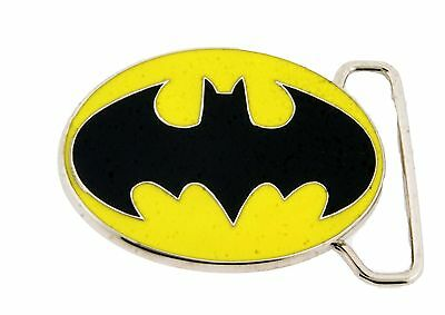 Batman Belt Buckle Halloween Costume Kids Youth Small Size Accessory Superhero (Kids Batman Belt)
