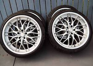 20 Inch Speedy Rims With Tyres Pelican Waters Caloundra Area Preview