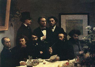 Coin De Table - Henri Fantin-Latour•Un coin de table 1872•The Kitchen Table•French Art POSTCARD