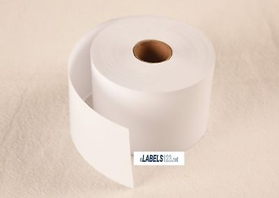 Dymo(R) Compatible Multipurpose Continuous Receipt Paper 300 ft White Blank Roll