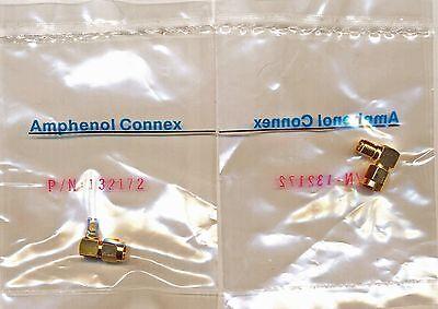 3 Right Angle Adapter Coaxial SMA Male Plug To SMA Female Socket 50 Ohm conn new