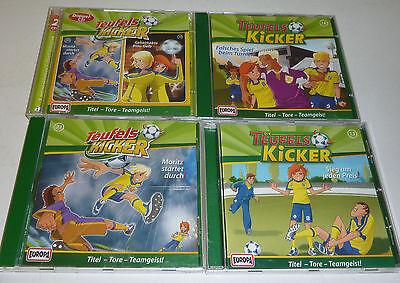 Die Teufels Kicker CD Sammlung 4 Stück mit 5 Fußball Folgen EUROPA