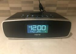 iHome iP90 Dual Alarm Clock Radio for iPhone / iPod – Tested Works