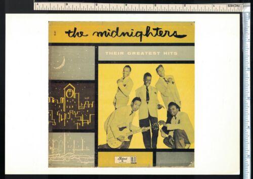 Soul R&B Post Card/Mini Poster