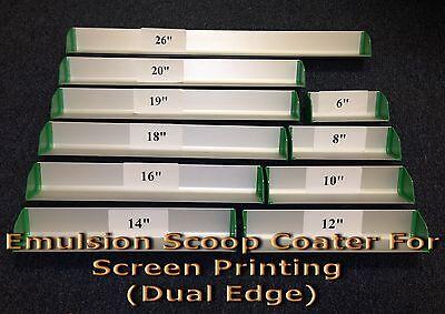 16 Emulsion Scoop Coater For Screen Printing Dual Edge